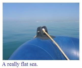 a-really-flat-sea